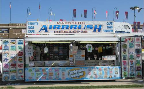 show schedule and store hours for marden 39 s airbrushed designs
